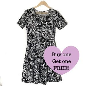 LULAROE Paisley A-Line Dress.     D008